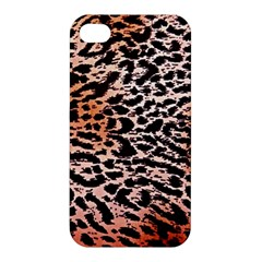 Tiger Motif Animal Apple Iphone 4/4s Premium Hardshell Case