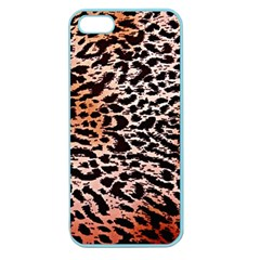 Tiger Motif Animal Apple Seamless Iphone 5 Case (color)