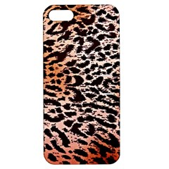 Tiger Motif Animal Apple Iphone 5 Hardshell Case With Stand