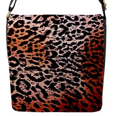 Tiger Motif Animal Flap Messenger Bag (s)