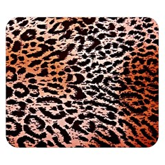 Tiger Motif Animal Double Sided Flano Blanket (small)