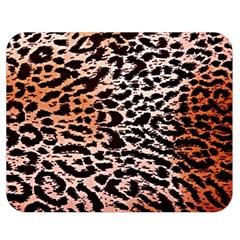 Tiger Motif Animal Double Sided Flano Blanket (medium)