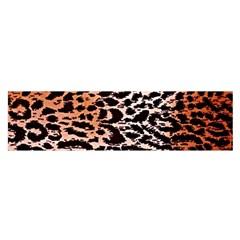 Tiger Motif Animal Satin Scarf (oblong)