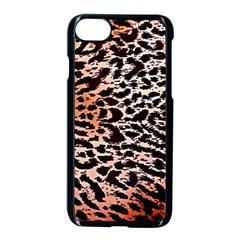 Tiger Motif Animal Apple Iphone 7 Seamless Case (black)