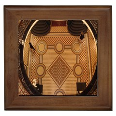 The Elaborate Floor Pattern Of The Sydney Queen Victoria Building Framed Tiles