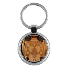 The Elaborate Floor Pattern Of The Sydney Queen Victoria Building Key Chains (round)