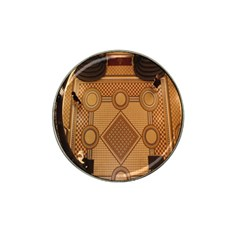 The Elaborate Floor Pattern Of The Sydney Queen Victoria Building Hat Clip Ball Marker (10 Pack)
