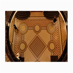The Elaborate Floor Pattern Of The Sydney Queen Victoria Building Small Glasses Cloth