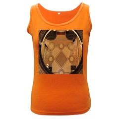 The Elaborate Floor Pattern Of The Sydney Queen Victoria Building Women s Dark Tank Top