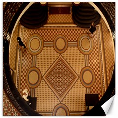 The Elaborate Floor Pattern Of The Sydney Queen Victoria Building Canvas 16  X 16