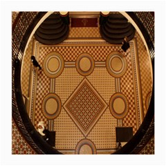 The Elaborate Floor Pattern Of The Sydney Queen Victoria Building Medium Glasses Cloth (2 Side)