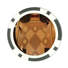 The Elaborate Floor Pattern Of The Sydney Queen Victoria Building Poker Chip Card Guard (10 Pack)