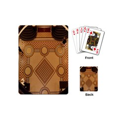 The Elaborate Floor Pattern Of The Sydney Queen Victoria Building Playing Cards (mini)