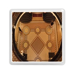 The Elaborate Floor Pattern Of The Sydney Queen Victoria Building Memory Card Reader (square)
