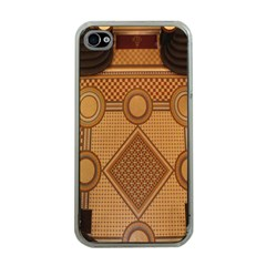 The Elaborate Floor Pattern Of The Sydney Queen Victoria Building Apple Iphone 4 Case (clear)