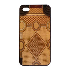 The Elaborate Floor Pattern Of The Sydney Queen Victoria Building Apple Iphone 4/4s Seamless Case (black)