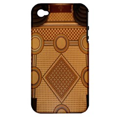 The Elaborate Floor Pattern Of The Sydney Queen Victoria Building Apple Iphone 4/4s Hardshell Case (pc+silicone)