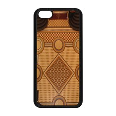 The Elaborate Floor Pattern Of The Sydney Queen Victoria Building Apple Iphone 5c Seamless Case (black)