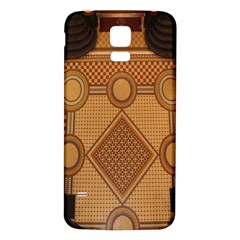 The Elaborate Floor Pattern Of The Sydney Queen Victoria Building Samsung Galaxy S5 Back Case (white)