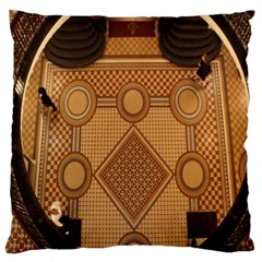 The Elaborate Floor Pattern Of The Sydney Queen Victoria Building Standard Flano Cushion Case (two Sides)