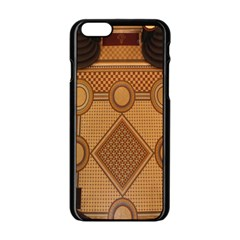 The Elaborate Floor Pattern Of The Sydney Queen Victoria Building Apple Iphone 6/6s Black Enamel Case