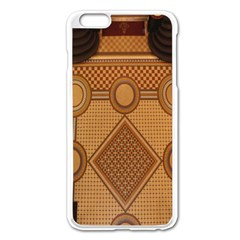 The Elaborate Floor Pattern Of The Sydney Queen Victoria Building Apple Iphone 6 Plus/6s Plus Enamel White Case