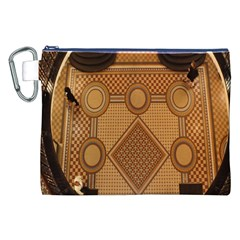 The Elaborate Floor Pattern Of The Sydney Queen Victoria Building Canvas Cosmetic Bag (xxl)