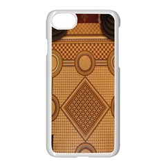 The Elaborate Floor Pattern Of The Sydney Queen Victoria Building Apple Iphone 7 Seamless Case (white)