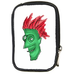 Crazy Man Drawing  Compact Camera Cases