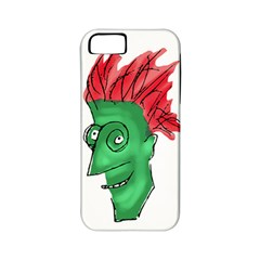 Crazy Man Drawing  Apple Iphone 5 Classic Hardshell Case (pc+silicone)