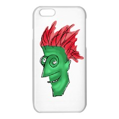 Crazy Man Drawing  iPhone 6/6S TPU Case