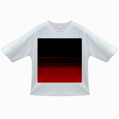 Abstract Of Red Horizontal Lines Infant/toddler T Shirts