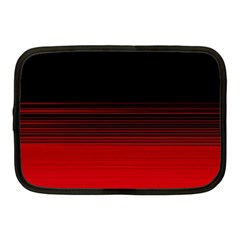 Abstract Of Red Horizontal Lines Netbook Case (medium)