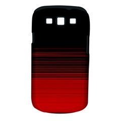 Abstract Of Red Horizontal Lines Samsung Galaxy S Iii Classic Hardshell Case (pc+silicone)