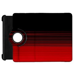 Abstract Of Red Horizontal Lines Kindle Fire HD 7