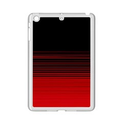 Abstract Of Red Horizontal Lines Ipad Mini 2 Enamel Coated Cases