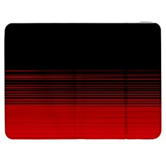 Abstract Of Red Horizontal Lines Samsung Galaxy Tab 7  P1000 Flip Case