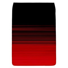Abstract Of Red Horizontal Lines Flap Covers (s)
