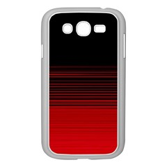 Abstract Of Red Horizontal Lines Samsung Galaxy Grand Duos I9082 Case (white)