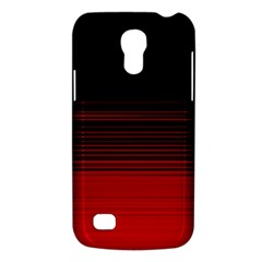 Abstract Of Red Horizontal Lines Galaxy S4 Mini
