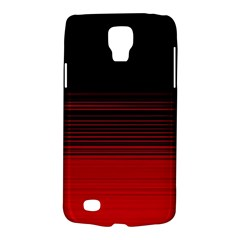 Abstract Of Red Horizontal Lines Galaxy S4 Active