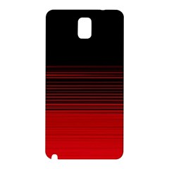 Abstract Of Red Horizontal Lines Samsung Galaxy Note 3 N9005 Hardshell Back Case