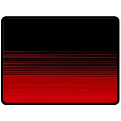 Abstract Of Red Horizontal Lines Double Sided Fleece Blanket (large)