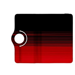 Abstract Of Red Horizontal Lines Kindle Fire HDX 8.9  Flip 360 Case
