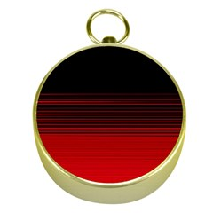 Abstract Of Red Horizontal Lines Gold Compasses