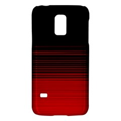 Abstract Of Red Horizontal Lines Galaxy S5 Mini