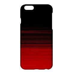 Abstract Of Red Horizontal Lines Apple Iphone 6 Plus/6s Plus Hardshell Case
