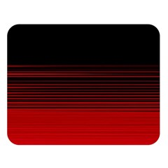Abstract Of Red Horizontal Lines Double Sided Flano Blanket (large)