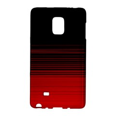 Abstract Of Red Horizontal Lines Galaxy Note Edge