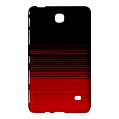 Abstract Of Red Horizontal Lines Samsung Galaxy Tab 4 (8 ) Hardshell Case